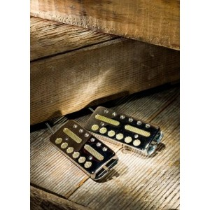 LOLLAR PICKUPS - GOLD FOIL SURFACE MOUNT MATCHING SET 2 PICKUPS