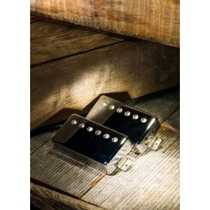 LOLLAR PICKUPS IMPERIAL HUMBUCKER CHROME NICKEL ZEBRA
