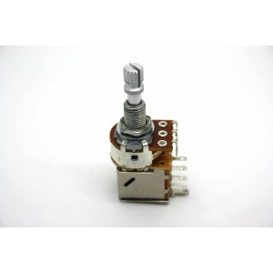 POTENTIOMETER B25K 25K LINEAR PUSH/PULL KNURLED SHORT SHAFT - METRIC