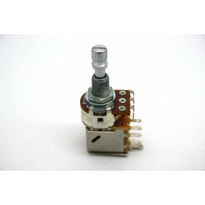 POTENTIOMETER B100K 100K LINEAR PUSH/PULL KNURLED SHORT SHAFT - METRIC