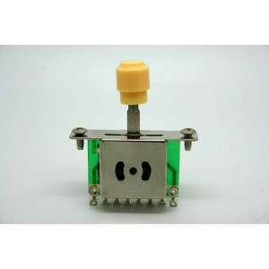 CREAM - IVORY 3 WAY SWITCH PICKUP SELECTOR FOR FENDER TELECASTER TELE