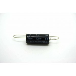 F&T CAPACITOR 1uF 100V BIPOLAR FOR AMPLIFIER - OLD RADIO - TUBE AMP