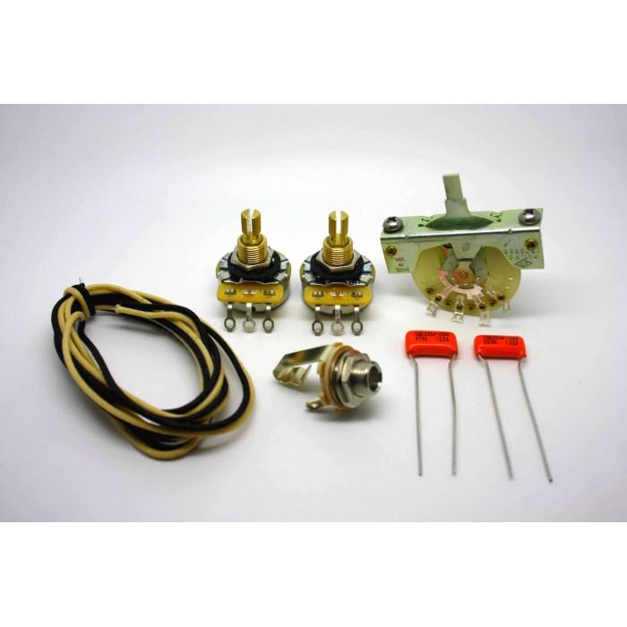 FENDER TELECASTER SUPER WIRING KIT SPRAGUE ORANGE DROP 0.047uf & 0.022uF CAPACITORS