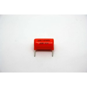 SPRAGUE ORANGE DROP 715P CAPACITOR 0.022uF 600V SHORT PIN FOR PCB