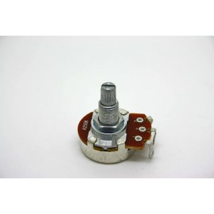 POTENTIOMETER 250K A250K LOGARITHMIC 24mm METRIC MOD.1