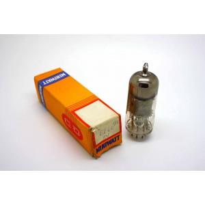 PHILIPS MINIWATT EF40 VACUUM TUBE WITH ORIGINAL BOX - MICROTRACER TEST!
