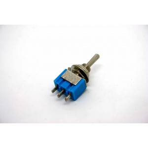 MINI TOGGLE SWITCH SPDT EIN- OFF-ON - 3 PIN
