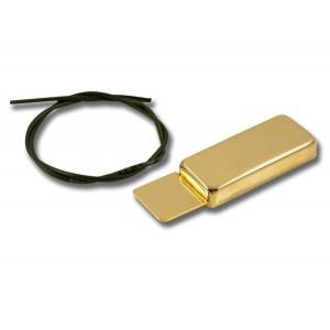KENT ARMSTRONG HANDWOUND MINI HUM SIDEMOUNT GOLD METAL - SIDE MOUNT GOLD
