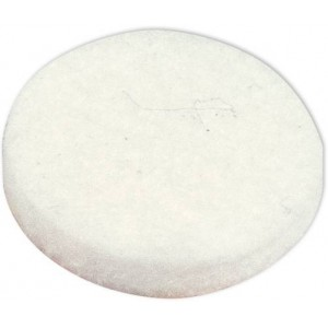 WHITE FELT PAD WITH ADHESIVE FOR DUNLOP OR MXR - ECB031