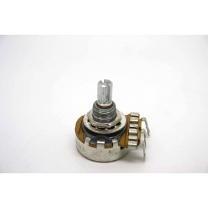 "POTENTIOMETER 50K A50K LOGARITHMIC AUDIO SPLIT SHAFT 3/8 ""BUSHING"