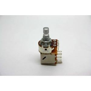 POTENTIOMETER B500K 500K LINEAR PUSH / PULL KNURLED SHORT SHAFT - METRIC