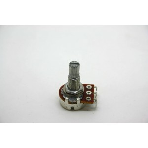 MINI POTENTIOMETER B500K 500K 16MM MIT LANGER WELLE - LINEARER TOPF