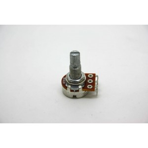 MINI POTENTIOMETER A250K 250K 16MM MIT LANGER WELLE - AUDIO LOGARITHMIC POT