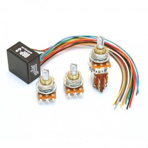 AGUILAR OBP-3TK/PP 3 BAND BOOST CUT 9V OR 18V ON PREAMP WITH POTENTIOMETERS AND PUSH-PULL