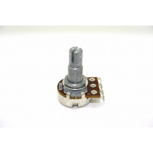MINI POTENTIOMETER B250K 250K 16MM MIT LANGER WELLE - LINEARER TOPF
