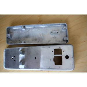 WAH OR VOLUME PEDAL KIT ALUMINUM ENCLOSURE WITH HARDWARE