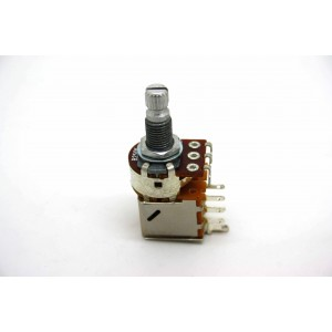 POTENTIOMETER B250K 250K LINEAR PUSH / PULL KNURLED SHORT SHAFT - METRIC