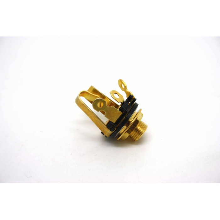 GOLD JACK STEREO FOR ELECTRIC GUITAR OR BASS GUITAR