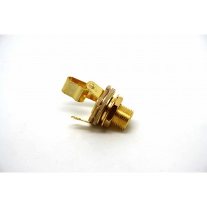 "GENUINE SWITCHCRAFT 6.35mm 1/4"" JACK TYPE L11 MONO - GOLD PLATE CONTACTS!"
