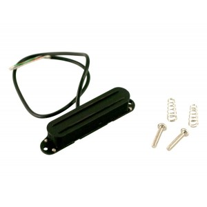 KENT ARMSTRONG DUAL BLADES - TELE PICKUP NECK HUM CANCELING COOL (BLACK W-BLACK RAILS)