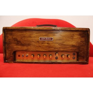 IMPROVED MARSHALL 1974X 18W CLONE AMPLIFIER HEAD. CABINET BY LCA GUITARS