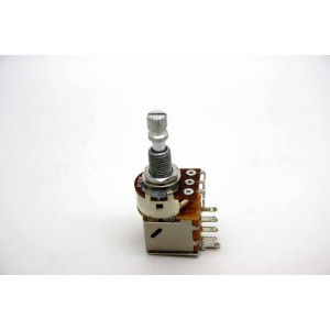 POTENTIOMETER A100K 100K LOGARITHMIC PUSH / PULL KNURLED SHORT SHAFT - METRIC