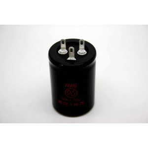 JJ 32UF / 32UF 500V DUAL CAPACITOR FOR AMPLIFIER TUBE AMP