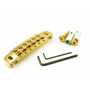 GOTOH COMBINATION BRIDGE/TAILPIECE GOLD