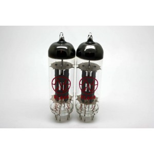 JJ ELECTRONIC EL844 EL84 MATCHED PAIR WITH LESS VOLUME OVERALL!