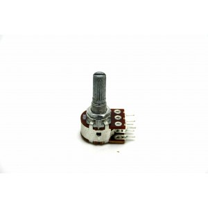 BOURNS DUAL POTENTIOMETER A50K 50K LOGARITHMIC WITH DETENT CE NTE R