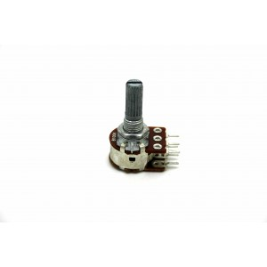 BOURNS DUAL POTENTIOMETER B100K 100K LINEAR WITH DETENT CENTER