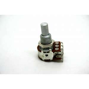 BOURNS 250K DUAL SOLID SHAFT POTENTIOMETER BLEND / BALANCE CE NTE R DETENT MN250K