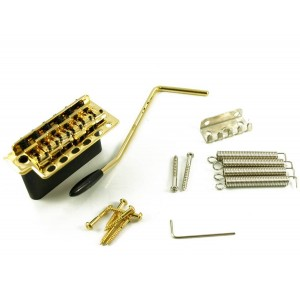 WILKINSON 5+1 HOLE TREMOLO STEEL BLOCK GOLD