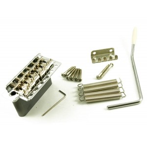 WILKINSON 6 HOLE TREMOLO STEEL BLOCK CHROME