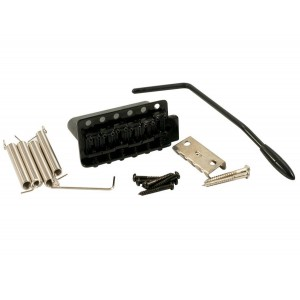 WILKINSON 6 HOLE TREMOLO STEEL BLOCK BLACK