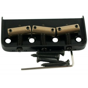 TELE BRIDGE (1/2 SIZE) INTONATED BLACK
