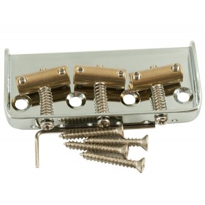 TELE BRIDGE (1/2 SIZE) INTONATED CHROME