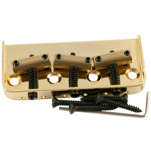 TELE BRIDGE (1/2 SIZE) INTONATED GOLD