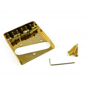 TELE BRIDGE VINTAGE INTONATED GOLD