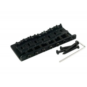 7 STRING FIXED BRIDGE BLACK