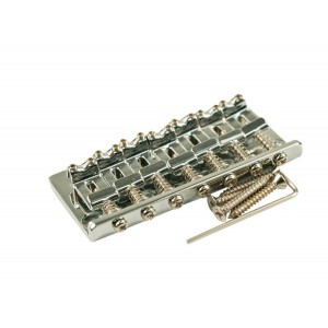 7 STRING FIXED BRIDGE CHROME