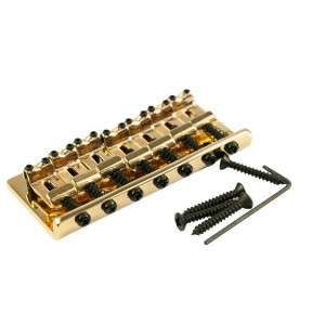 7 STRING FIXED BRIDGE GOLD