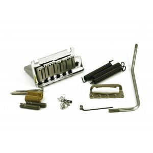 FENDER AMERICAN SERIES STRAT BRIDGE / TREMOLO ASSEMBLY IN CHROME