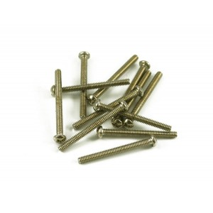 FENDER BASS BRIDGE INTONATION SCREWS NICKEL