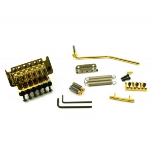 FLOYD ROSE ORIGINAL TREMOLO GOLD W/LOCKNUT