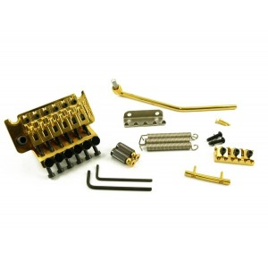 FLOYD ROSE ORIGINAL TREMOLO LH GOLD W/LOCKNUT