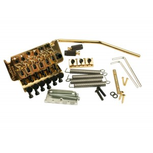 FLOYD ROSE SPECIAL SERIES TREMOLO GOLD W/LOCKNUT