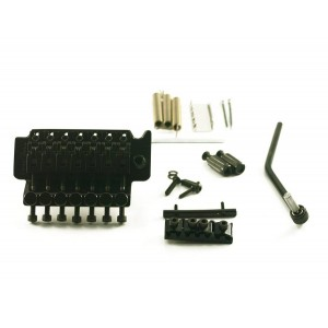 FLOYD ROSE 7 STRINGS TREMOLO BLACK W/LOCKNUT