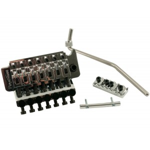 FLOYD ROSE 7 STRINGS TREMOLO CHROME W/LOCKNUT