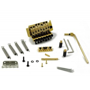 FLOYD ROSE SPECIAL SERIES 7 STRINGS TREMOLO, GOLD W/NUT